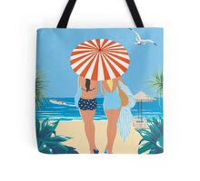 Classic Monte Carlo Vintage Travel Poster Tote Bag
