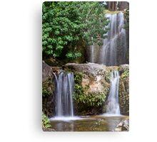 Triple Waterfall Metal Print
