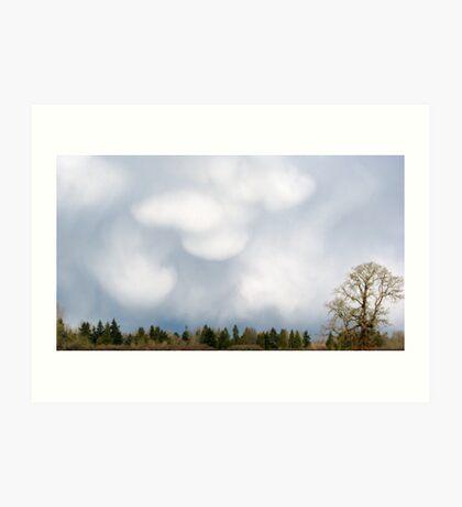 Extrordinary Clouds Art Print
