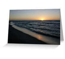 Last Rays Greeting Card