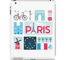 Paris Travel Card iPad Case/Skin