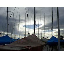 Yacht Storage Photographic Print