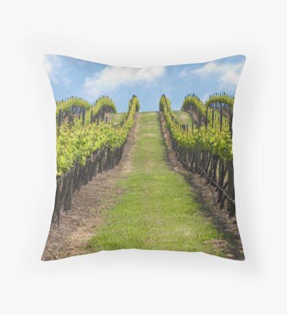 Salitage Winery Throw Pillow