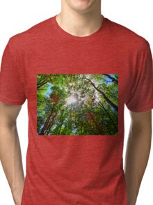 Mystical Forest Sky Tri-blend T-Shirt