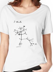 Darwin Tree of Life - I think Women's Relaxed Fit T-Shirt