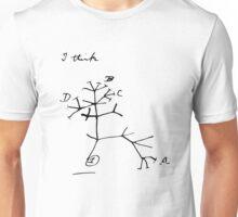 Darwin Tree of Life - I think Unisex T-Shirt