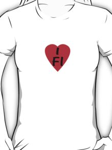 I Love Finland - Country Code FI T-Shirt & Sticker T-Shirt