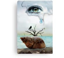 Ocean of tears Canvas Print
