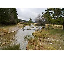 Bonheur river - Cevennes National Park Photographic Print