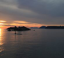 Adriatic Sunset #2 by erwina