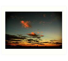 Sunset Roaming Roma © Vicki Ferrari Photography Art Print