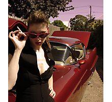 cherry bomb Photographic Print