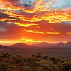 Fire in the Sky, Stirling Range, WA by James Deypalan