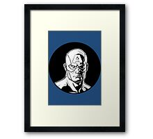 Captain America Icon Image Framed Print