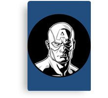 Captain America Icon Image Canvas Print