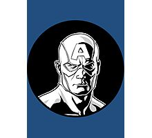 Captain America Icon Image Photographic Print