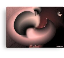 DISTORTED SPACE Canvas Print