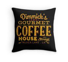 Coffee & Storage Throw Pillow