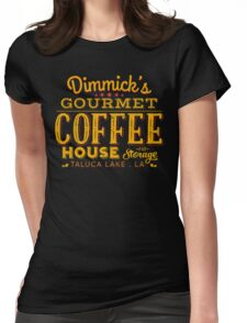 Coffee & Storage Womens Fitted T-Shirt