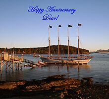 Happy Anniversary Dear! by Linda Jackson