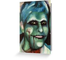 Halloween Frolics-The Zombie Greeting Card