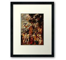 Jacob Jordaens - Allegory of the Poet Framed Print