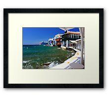Little Venice Framed Print