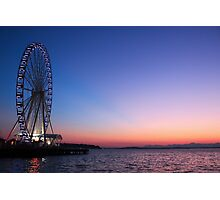 Seattle Sunset Photographic Print
