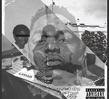 Kendrick Lamar; 3 Album Cover Mashup by AsaSpadez