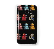 Doctor Who stuck in pac man Samsung Galaxy Case/Skin