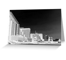 The Negative Side of Atlantic City Greeting Card