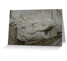 Gargoyle, Beijing Greeting Card