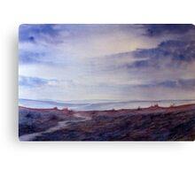 Full Circle - Twilight on the Moors Canvas Print