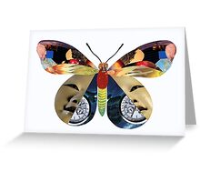 Tiger Moth Adrift In Time Greeting Card