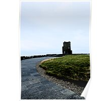 Cliffs of Moher Castle Poster