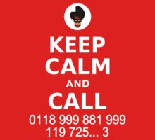 Keep Calm and Call 0118 999 881 999 119 725... Kids Tee