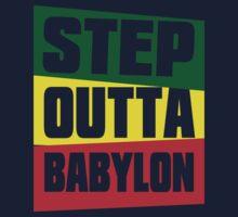 STEP OUTTA BABYLON One Piece - Long Sleeve