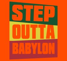 STEP OUTTA BABYLON Kids Clothes