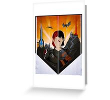 The Shepard and The Hawke Greeting Card