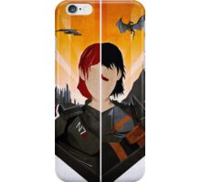 The Shepard and The Hawke iPhone Case/Skin