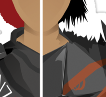 The Shepard and The Hawke Sticker