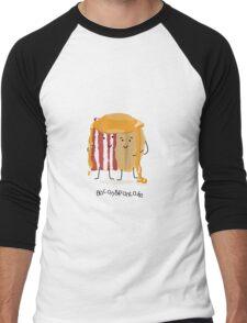 Bacon and Pancake = best friends Men's Baseball ¾ T-Shirt