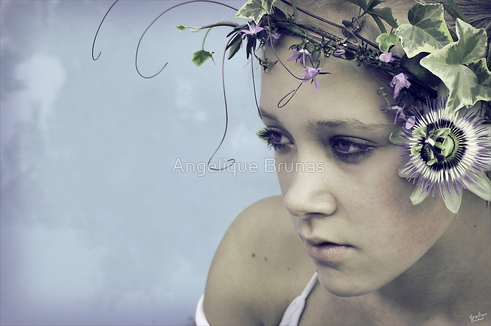Flower child by Angelique Brunas