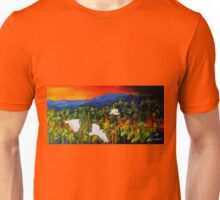 """Flight West""  Acrylic painting on canvas Unisex T-Shirt"