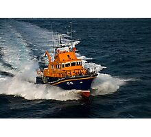 Lerwick lifeboat Photographic Print