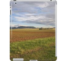 Field and hill iPad Case/Skin