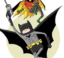 Adventure Time : Gotham , Batman by Baipodo
