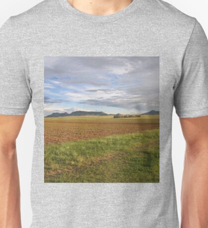 Field and hill Unisex T-Shirt