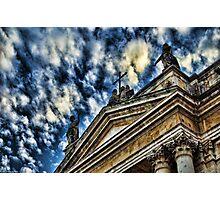 Scorcio della Chiesa di San Biagio, Catania Photographic Print
