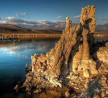 Morning at Mono Lake - -HDR by Dennis Jones - CameraView